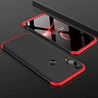 Huawei Nova 4 Case, MYLB-US Fashion Ultra-Thin PC Back Cover Anti-Skid 360 Degree Full Protective Sleeve, Suitable for Huawei Nova 4 Mobile Phone case (Black+Red)