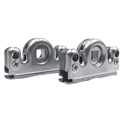 Siegenia (SI AUBI) Schneckengehäuse Schnecke Ersatzteil schraubbar für Fenstergetriebe und Balkontüre Reperatur Getriebeschloss für Serie Favorit TRIAL Getriebe 3 & 23 mit HauSun Upgrade