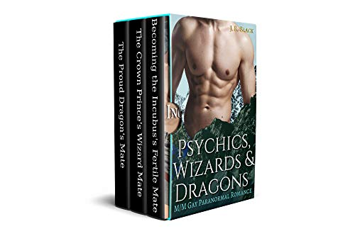 Psychics, Wizards & Dragons: M/M Fated Fantasy Mates Collection (J.B. Black's M/M Fantasy Box Sets) (English Edition)