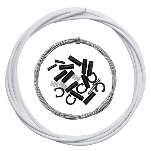 Dymoece Universalem Fahrrad Schaltzug Gehäuse Fahrrad Schaltzug Schlauch für Shimano SRAM MTB-Rennräder