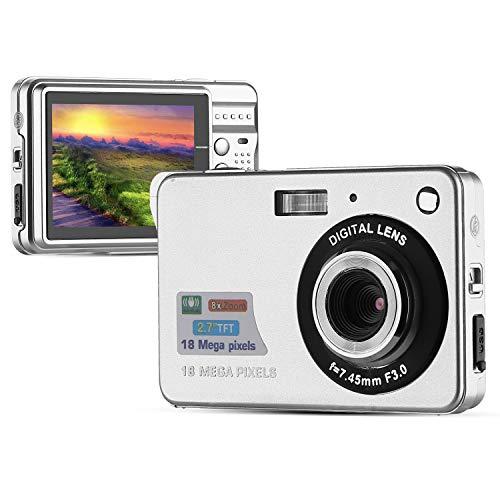 Macchina Fotografica Compatta, Stoga Dfun C3 2.7 inch TFT LCD HD Mini Digital macchina fotografica Videocamere digitali per bambini - Sport, viaggi, campeggio, regalo di compleanno-Scheggia