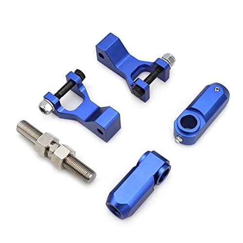 XIXI-Home Kit de Bajada Trasera Frontal Adecuada para Yamaha Raptor 350 YFM350 Raptor 660 66 0R YFM660R Raptor 700 70 0R YFM700 Raptor660 raptor350 (Color : Blue)