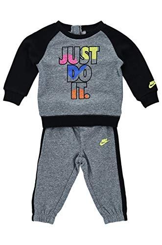 Nike JDI Fleece Crew - Mono 66G985-023 Geh Gri-ner-mul 24 Meses
