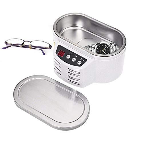 LYHD Ultraschall-Cleanersonic-Schmuckreiniger-Maschinenuhr-Stand-Edelstahl-Tank Digital Für Schmuck-Gläser-Uhr Metallmünzen-Zahnersatz