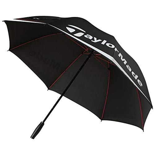 TAYLORMADE(テーラーメイド)ゴルフ傘LNQ94アンブレラメンズLNQ94B16008:ブラック/ホワイト/レッド