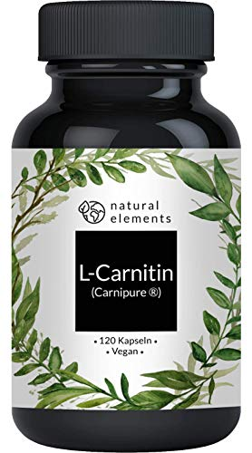 L-Carnitin 3000 - Vergleichssieger 2020* - Premium: Carnipure® von Lonza - 120 Kapseln - Laborgeprüft, hochdosiert, vegan