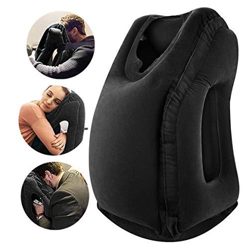 VinMas Reisekissen Schlafhilfe, Premium-Komfortable Aufblasbare Tragbare Kopfnackenstütze Kissen, Design für Flugzeuge, Autos,...