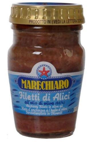 マレッキアーロ フィレ・アンチョビ 瓶 80g