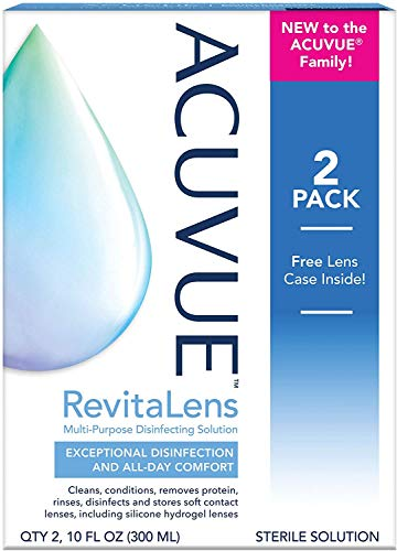 ACUVUE RevitaLens Multi-Purpose Disinfecting Solution 10 oz (Pack of 2)