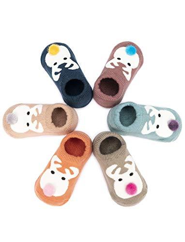 Adorel Baby Sokken Antislip met Badstof 6-Pak