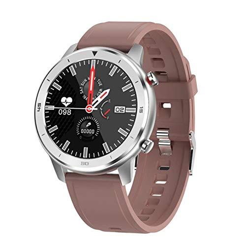 XXH Smart Watch DT78 Pulsera de los Hombres, Rastreador de Actividades de Fitness, Dispositivo portátil para Mujer Pulsera Monitor de Ritmo cardíaco Reloj Deportivo,D
