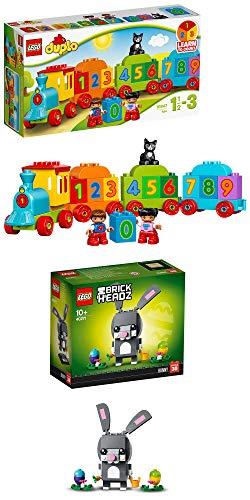 CAGO Lego Duplo 10847 + Lego BrickHeadz Conejo de Pascua 40271