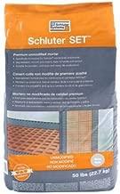 Schluter Set White 50 lbs Bag UNMODIFIED Thin-SET MORTAR