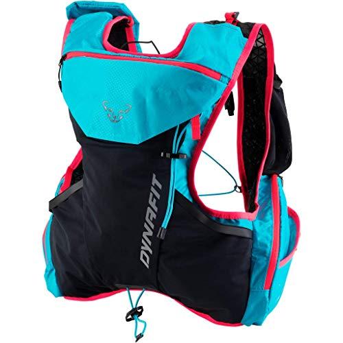 DYNAFIT Alpine 9 Backpack Colorblock-Grau-Schwarz, Laufrucksack, Größe M/L - Farbe Magnet - Fluo Yellow