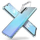 "ORNARTO Durchsichtig Kompatibel mit Huawei P30 Pro Hülle, Transparent TPU Flexible Silikon Handyhülle Schutzhülle Hülle für Huawei P30 Pro(2019) 6,47""-Klar"