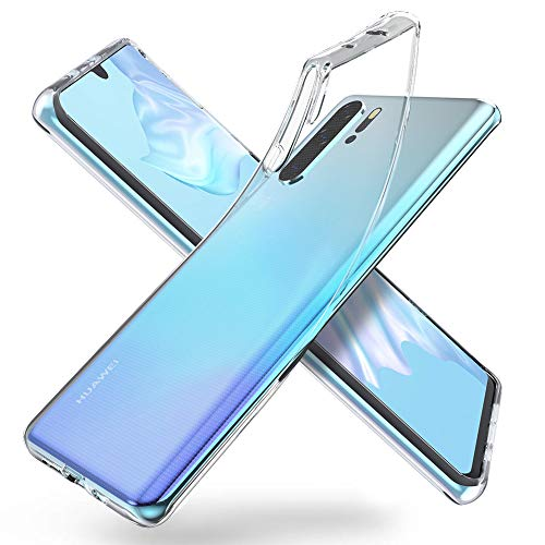 """ORNARTO Crystal Clear Cover Huawei P30 PRO, Estremamente Sottile Morbida e Protettiva TPU Flessibile Trasparente Custodia per Huawei P30 PRO(2019) 6,47"""""""