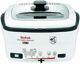 """تيفال – قلاية كهربائية """" فيرساليو ديلوكس""""، 1 كجم، 1600 واط موديل FR0495027 - أسود"""
