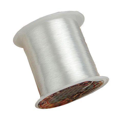 TOOGOO 70m / rollo 0.25mm cordon rosca para abalorios Pesca