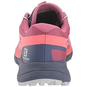 Salomon Women's Sense Ride 2 Trail Running Shoes, Malaga/Dubarry/Crown Blue, 7