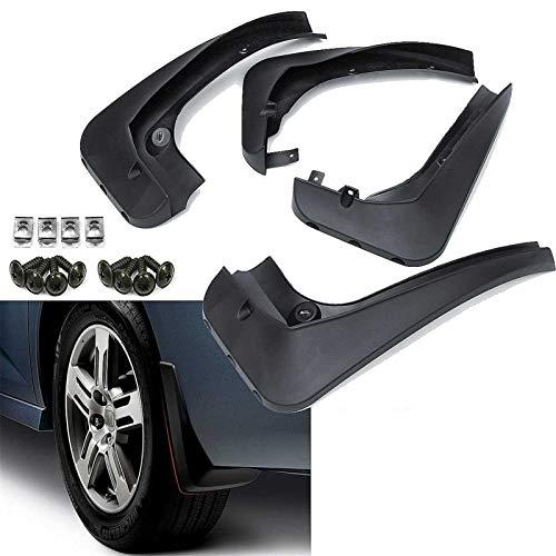 HUANGRONG Aletas de Barro de Coches Guardabarros de fábricos Guardias de Salpicaduras de Fender Accesorios de mudflaps para BMW X3 F25 2011 2013 2014 2015 2015 2016