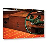 ArtWall Kevin Calkins ' Chris Craft Interior ' Gallery-Wrapped Canvas - Multi 24x36