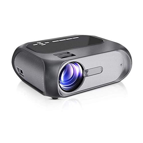 SHUNFENG-EU Proyector de Marca Mini LED HD 720P Proyector de Marca de Video, Pantalla inalámbrica WiFi Cine de casa Opcional