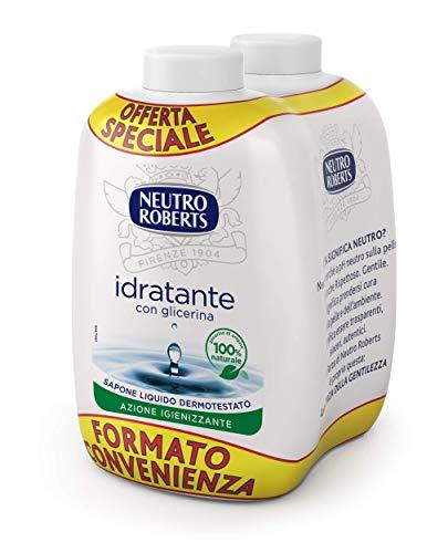 Neutro Roberts Sapone Liquido Idratante Ricarica Bis - 400 ml