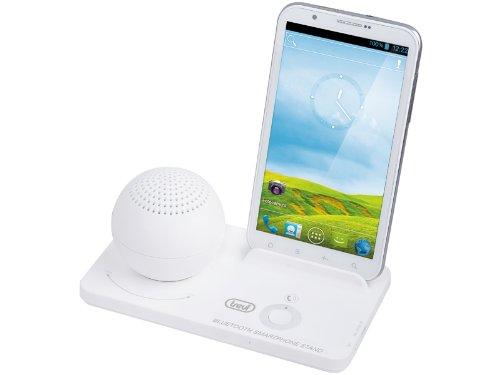 Trevi XB 78 BT 1.0channels 2.5W Blanco Acoplamiento Altavoz - Altavoces (1.0 Canales, 2,5 W, Smartphones, Phablet, Mini-Tablet, Blanco, Carga, Operación, Giratorio)