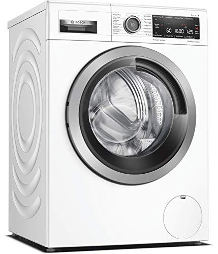 Bosch WAX32M10 Serie 8 Waschmaschine Frontlader / A+++ / 167 kWh/Jahr / 1600 UpM / 10 kg / Weiß / Fleckenautomatik / 4D Wash System