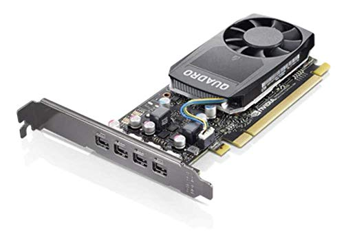 Lenovo Quadro P620 Graphic Card - 2 GB GDDR5 - Single Slot Space Required - Fan Cooler - 4 X Mini DisplayPort - PC