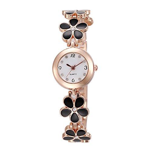 Imixcity Women Girl Chic Fashion Daisies Flower Rose Golden Bracelet Wrist...