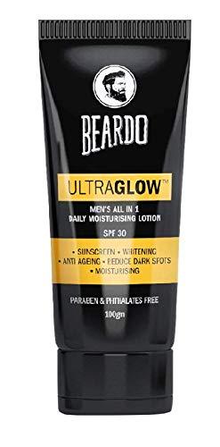 Beardo Ultraglow Face Lotion For Men, 100 gm