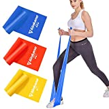 Haquno 3 Pack Exercise Resistance Bands; Set with 3 Resistance Levels;1.8M Exercise Bands
