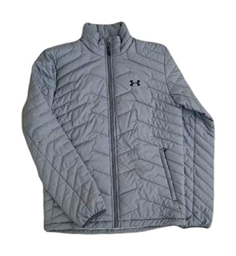 Under Armour Men's ColdGear Reactor Insulated Outdoor Jacket (Charcoal Light Heather (019)/Black, X-Large)
