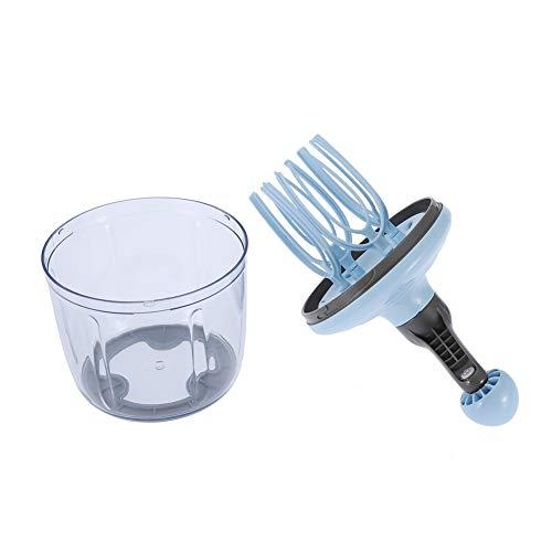 Fouet à Oeufs Multifonction Melangeur D'oeufs Batteur à Lait Mixeur avec Poignée Ergonomique Amovible pour Cuisine Restaurant Boulangerie