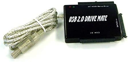 USB 2.0 to IDE/SATA Adapter, Works with 2.5