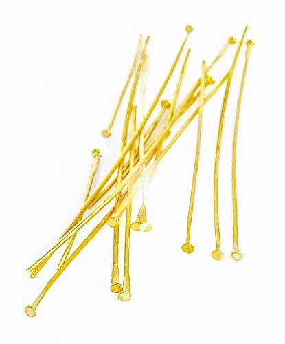 Stifte für Zauberperle, 50 Stück Gold