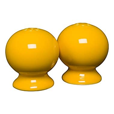 Homer Laughlin 497-342 Classic Fiesta Salt and Pepper Shaker Set, Daffodil