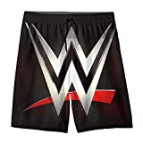 Youth Boys' Swim Trunk W_WE Elimination Surf Beach Shorts Quick Dry Board Shorts Casual Pants