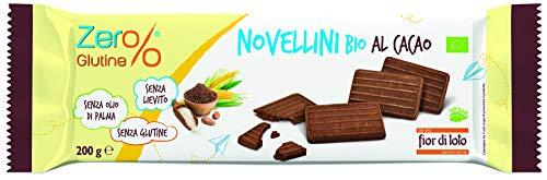 Zer%glutine Novellini al Cacao, 5 Confezioni da 200 g