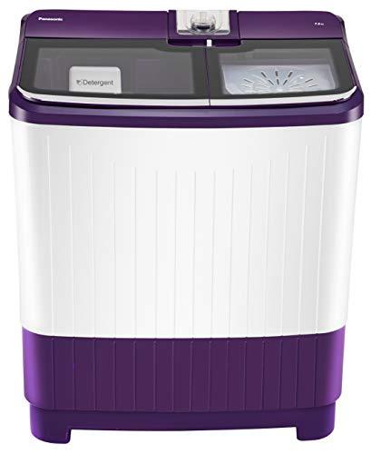 Panasonic 7 kg Semi-Automatic Top Loading Washing Machine (NA-W70G5VRB, Violet)