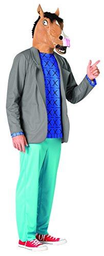 Men's Bojack Horseman Fancy Dress Costume Standard