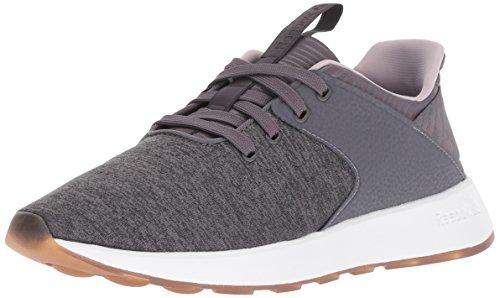 Reebok Women's Ever Road DMX Walking Shoe, ash Grey/Lavender Luck/wh, 9.5 M US