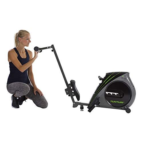 Tunturi Cardio Fit R20 Rameur d'appartement Pliable / Machine à ramer / Rowing machine - avec...