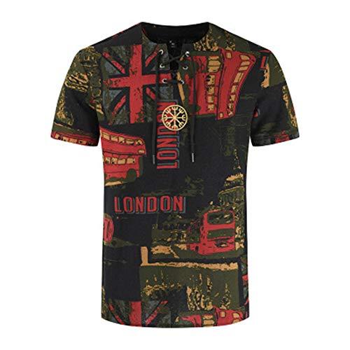 Mr.BaoLong&Miss.GO Camiseta De Cuello Redondo De Algodon para Hombres Sudadera para Hombres Camiseta Comoda De Gran Tamano Las Camisetas De Gama Alta para Hombres Se Pueden Personalizar con