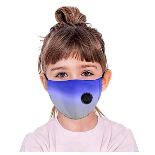 JSPOYOU Children Kids Adjustable Reusable Breathable Valve Safe Protection