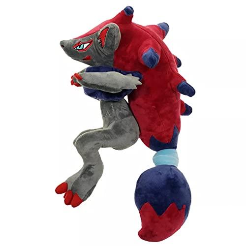 QWEDFG 45cm Kawaii Pokemon Juego Anime Zoroark Juguetes de Peluche de Bolsillo Monstruo Almohada colección decoración para niños Chico