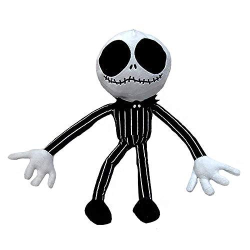 YaYang Super Lindo Personaje de Pesadilla de la muñeca de Peluche Jack Skellington Antes de Navidad 4 Tipos de Felpa (20cm / 25cm / 35cm / 50cm)