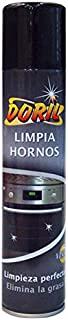 DORIL Limpia hornos/asadoras / barbacoas/Parrillas. Limpieza Perfecta, Elimina la Grasa. Aerosol 300 ML