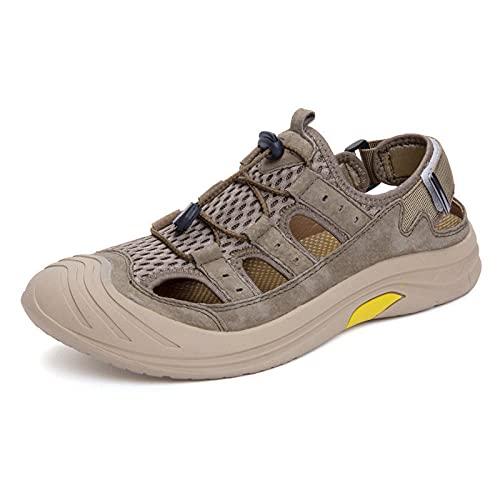 Fnho Calzado para Correr por Carretera,Zapatos de Gimnasia Zapatos Ligeros,Sandalias Transpirables de Gran tamaño, Zapatos de Playa Huecos de Malla-Card_41